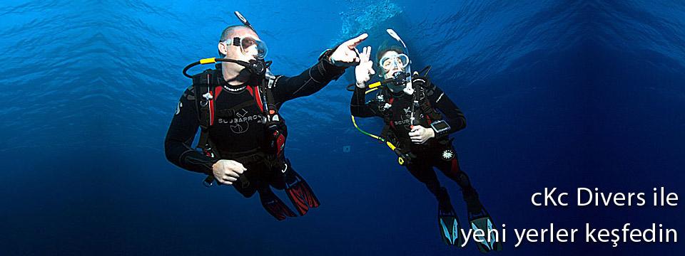 cKc Divers ile Yeni Dünyalar Keşfedin