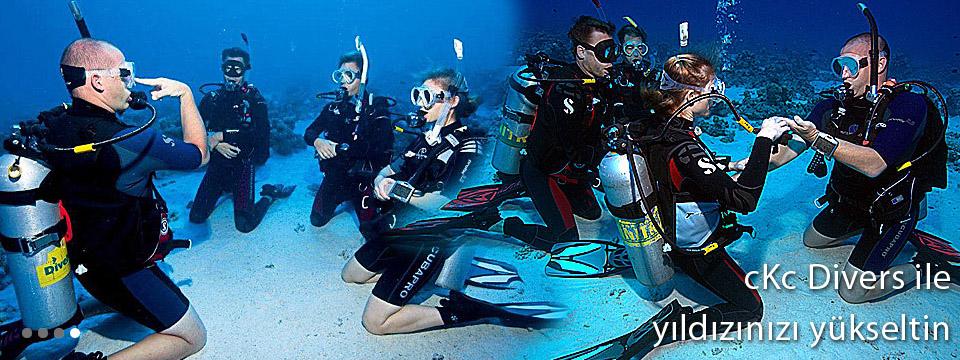 cKc Divers İle Eğitimlerinize Devam Edin